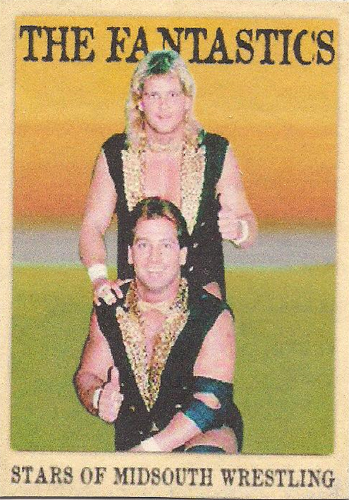 """2021 LJACards """"Stars Of The Mid South"""" History Of Wrestling Trading Cards"""