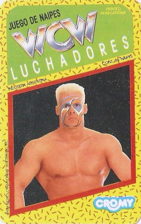 1991 WCW Cromy Header Card
