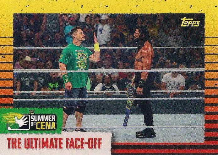 2021 WWE Topps On-Demand Summer of Cena  (Topps)