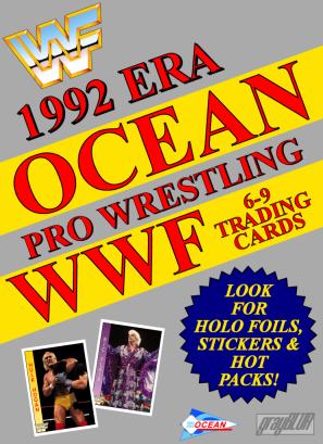 2021 WWF 1992 Era Ocean Series Trading Card Set (GreyBLUR)