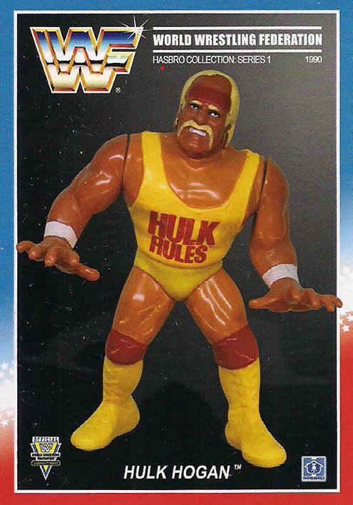 2021 WWF Ultimate Hasbros Collectors Cards Series 1 Hogan