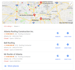 better local search results with google my business