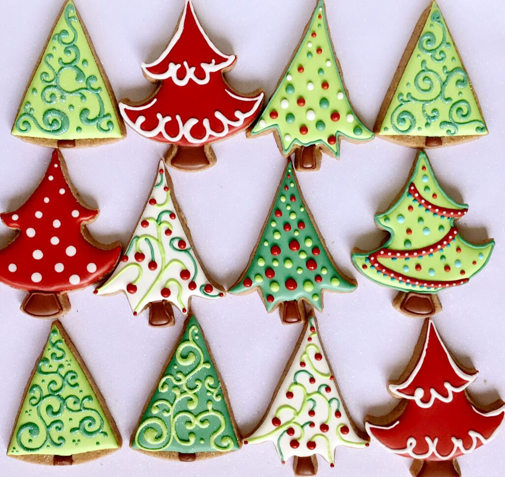 Decorated Christmas Cookies St. Pete