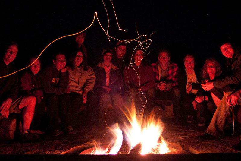 ZionCampground-FireCircle