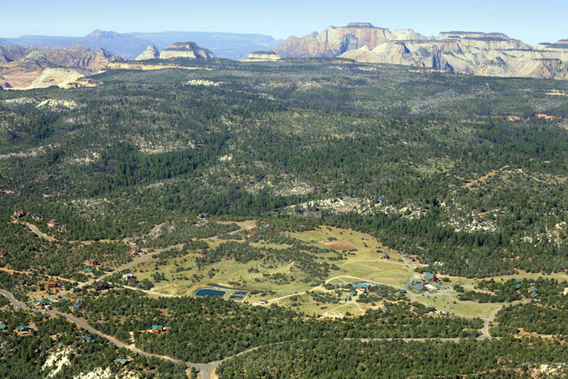 Zion crest campground panoramic