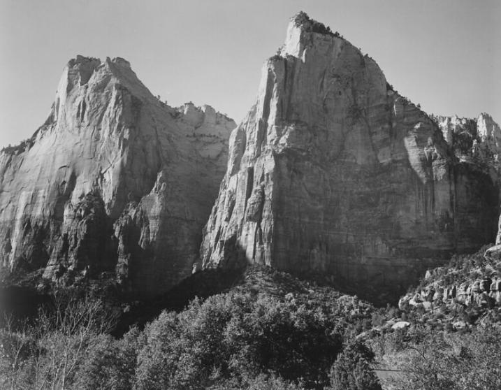 Ansel Adams Zion National Park