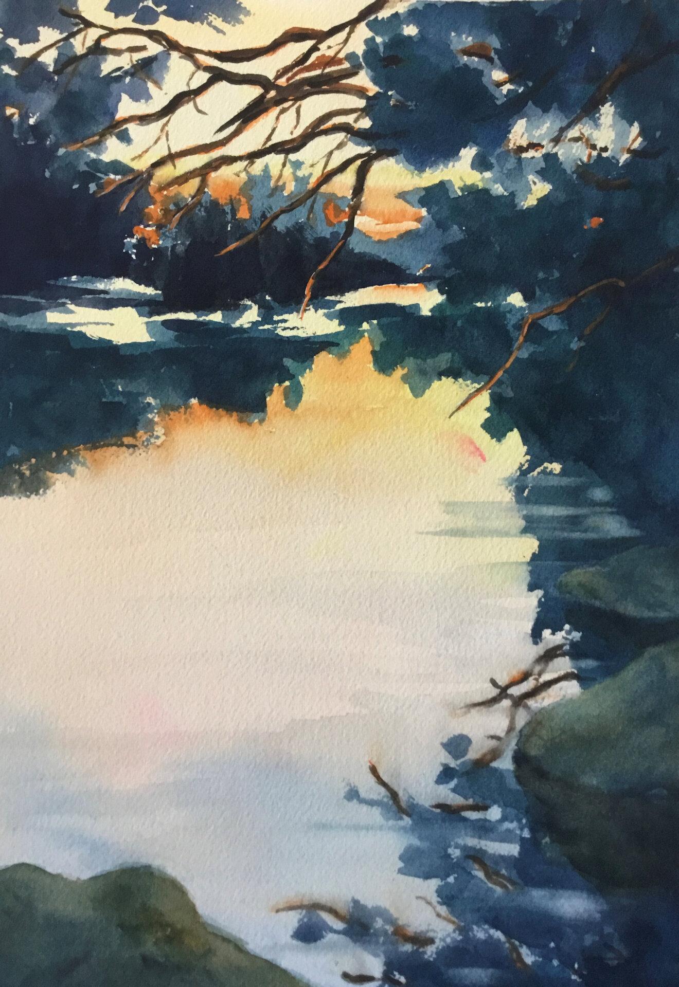 Richards Margaret - River Sunset