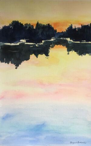 Richards Margaret - Water Sunset