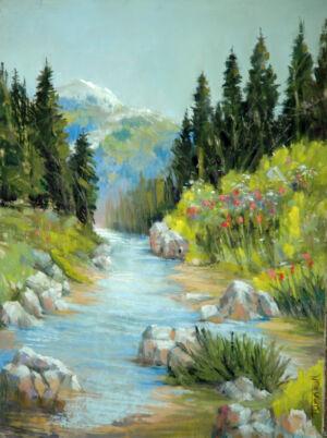 Trumbull Alexander - Mountain Stream
