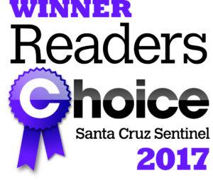 Readers Choice 2017 winner logo