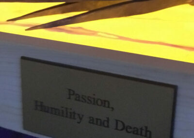 Passion, Humility and Death, 2018