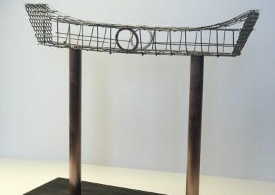 Floating Torii Gate maquette