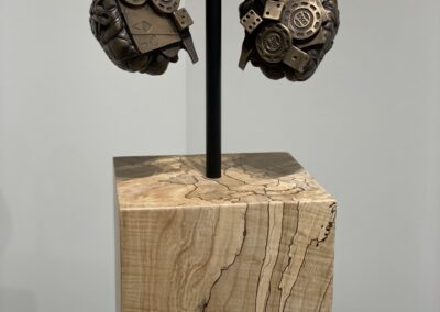 Corrupted I. 2020, Bronze and Spalted Maple