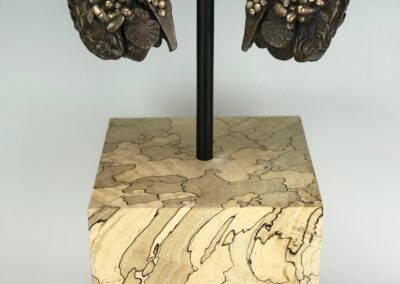 Corrupted II, 2020, Bronze and Spalted Maple