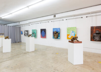 Blank Slate - Installation View, The Box Gallery, West Palm Beach