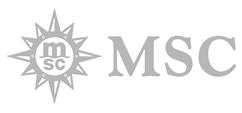 Logo for MSC Cruises