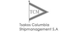 Logo for Tsakos Columbia Shipmanagement