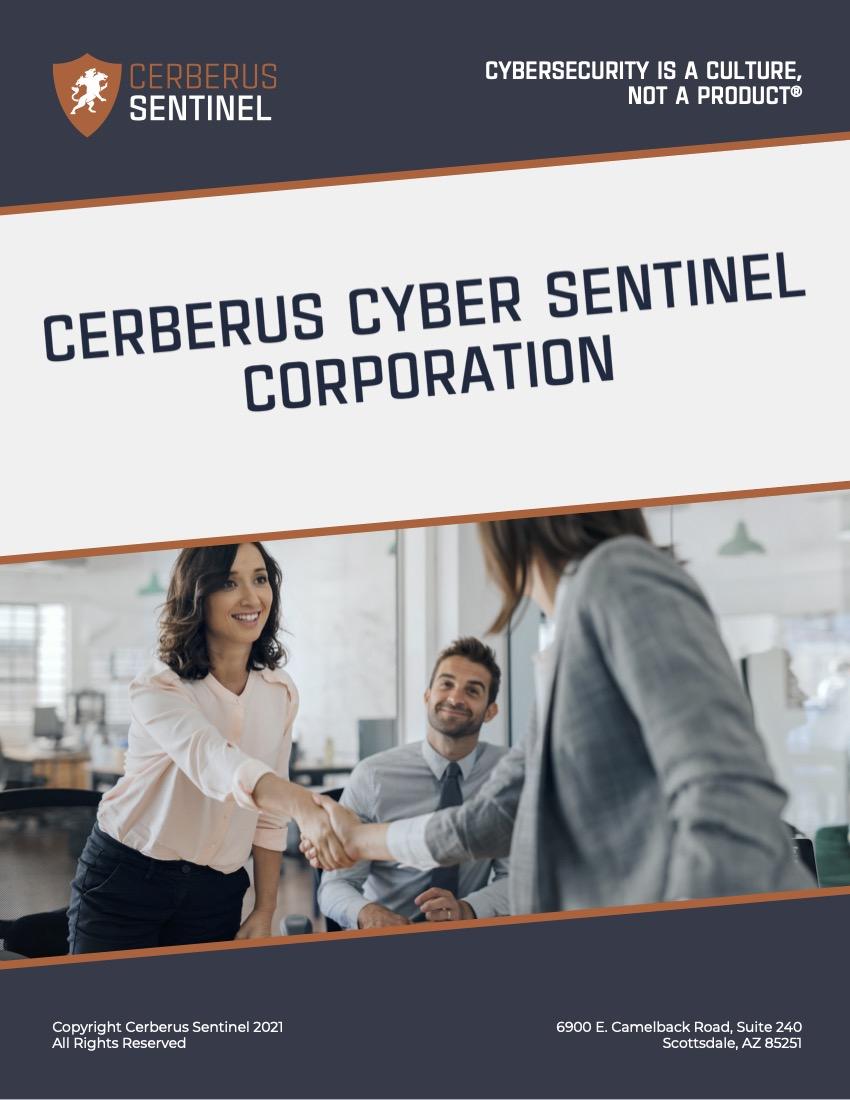 Cerberus Sentinel – Company Overview