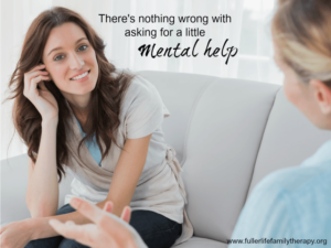 There's nothing wrong with asking for a little (mental) help