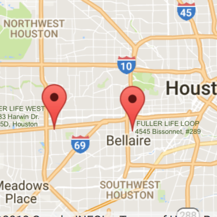 FULLER LIFE WEST AND LOOP MAP IMAGE