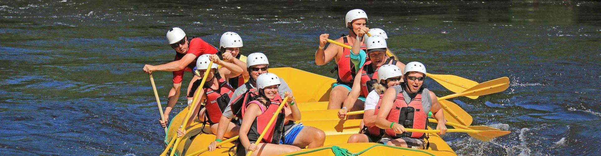 High Adventure Rafting with River Run Ottawa River