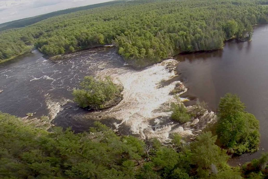 Garvin's Chute on the Ottawa River