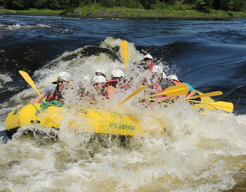 High Adventure Rafting with River Run Ottawa River