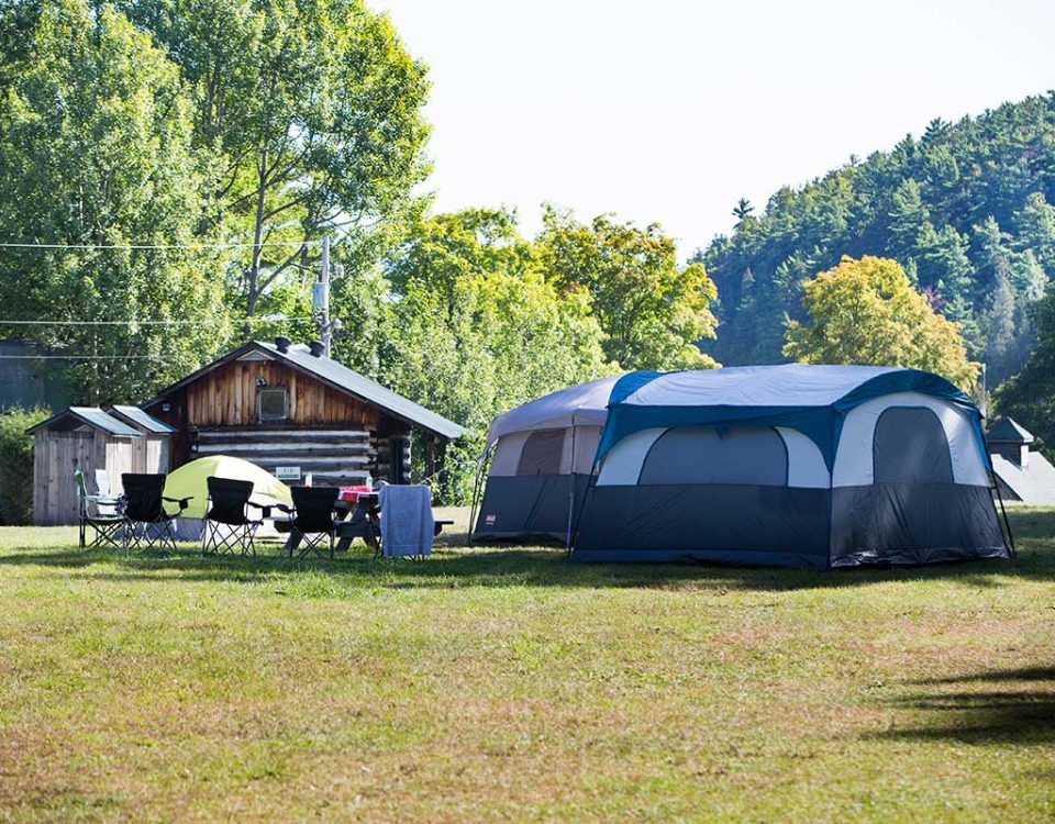 Main Campground at River Run Rafting Resort