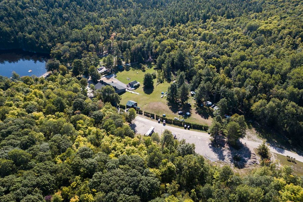 Main Campground at River Run