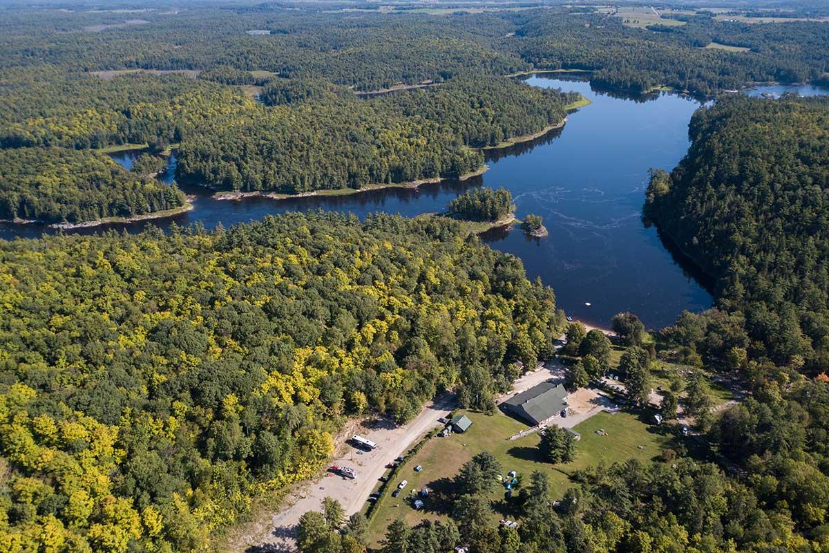River Run Resort on the Ottawa River