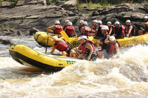 Sport Rafting High Intensity on the Ottawa River