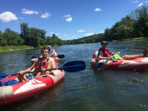 Turbo Tubing the Grand River with Grand River Rafting
