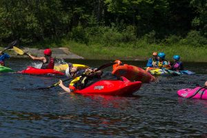Learn to Roll a kayak on the Ottawa River