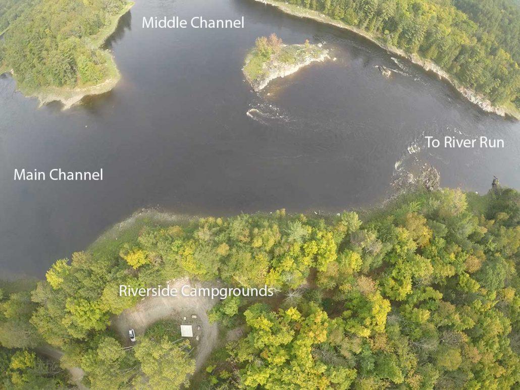 Riverside Kayaker Camping on the Ottawa River
