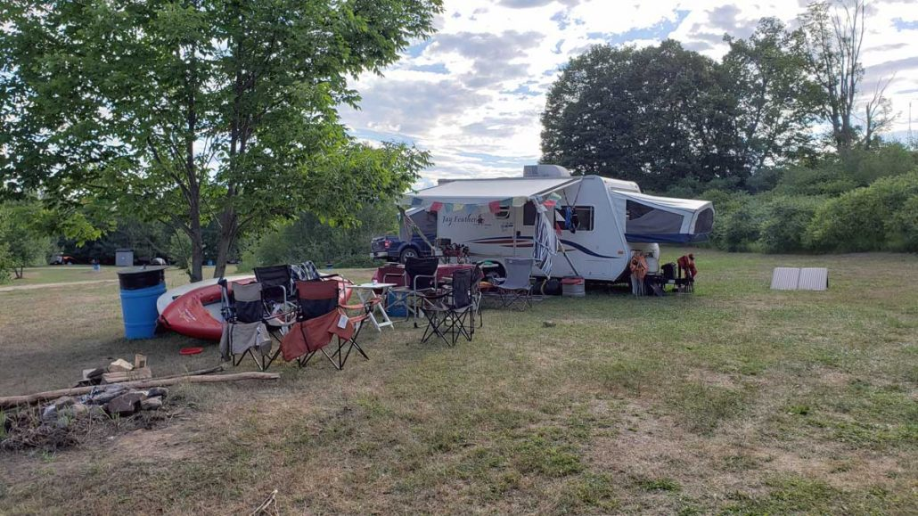 RV Sites Without Hookups
