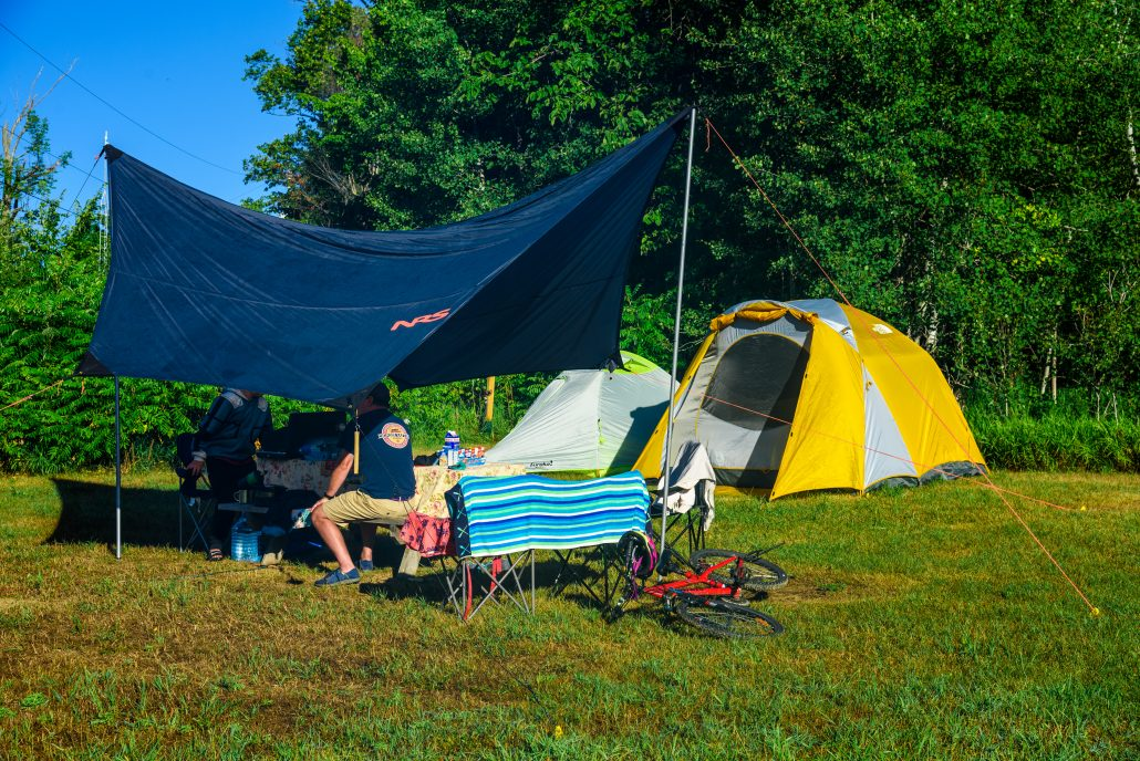 Camping in the National Whitewater Park
