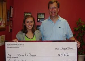 Haeger Orthodontics awards college scholarships to eligible students annually.