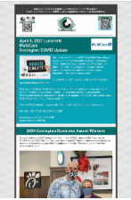 March 23, 2021 Newsletter Snippet
