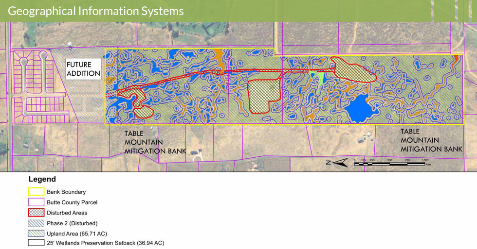 Melton Design Group, a landscape architecture firm, designed Linkside Wetland Inventory in Butte County, CA.