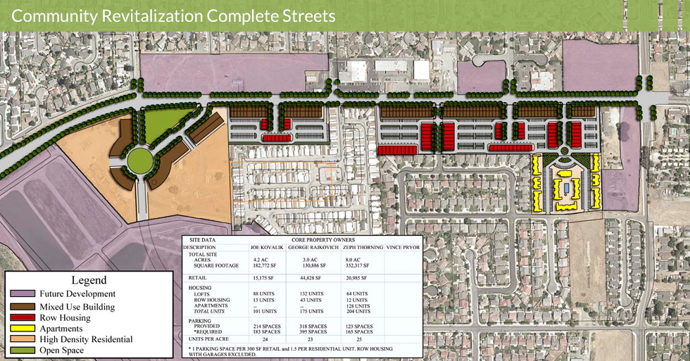 Melton Design Group, a landscape architecture firm, designed the Hollister Gateway and Visioning Plans in Hollister, CA.
