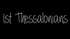 1 Thessalonians