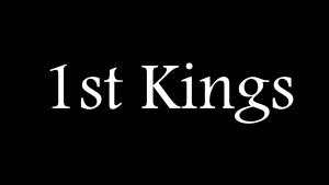 1st Kings 1