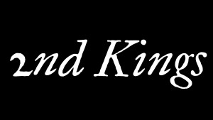 2nd Kings 1