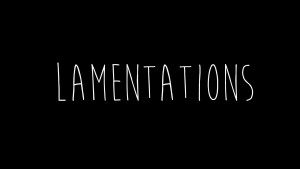 Lamentations 1