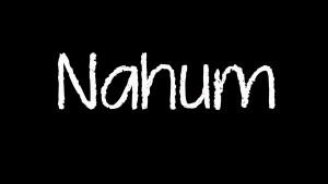 Nahum 1