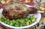Garlic & Rosemary Leg of Lamb