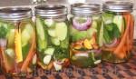 Refrigerator Pickles … No Canning Involved