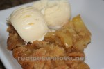 Apple Pie (with streusel topping)