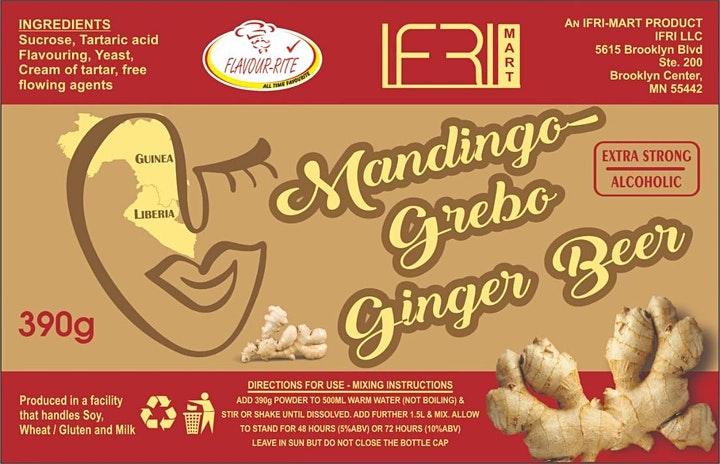 Mandingo Grebo Ginger Beer