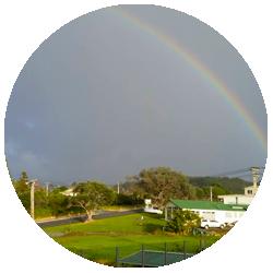 Leigh, rainbow